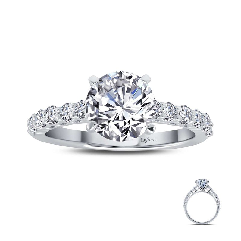 LaFonn 2.52 CTW Solitaire Engagement Ring