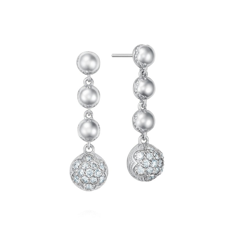 Tacori Fashion Cascading Drop Earrings featuring Pavé Diamonds