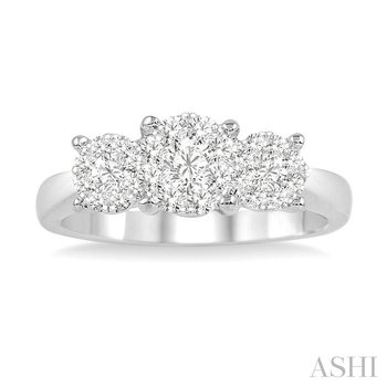 past present & future lovebright essential diamond ring