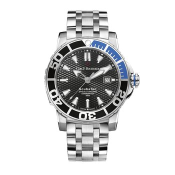 Patravi ScubaTec 45mm Stainless Mens Watch
