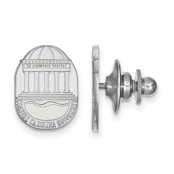 Sterling Silver Coastal Carolina University NCAA Lapel Pin