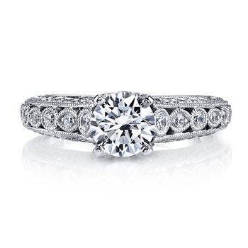 MARS 26176 Diamond Engagement Ring 0.62 ct tw