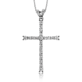 ZP766 CROSS PENDANT