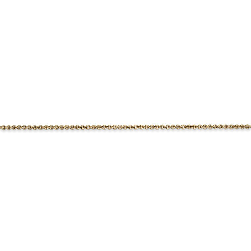 Leslie's Leslie's 14K 1.1mm Round Cable Chain