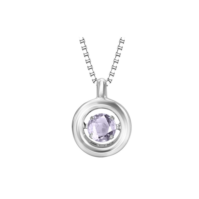 Necker's Signature Collection Silver Sync.Alex Rhythm Of Love Pendant