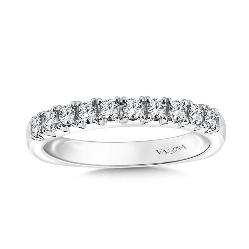 Valina Bridals Straight Diamond Wedding Band