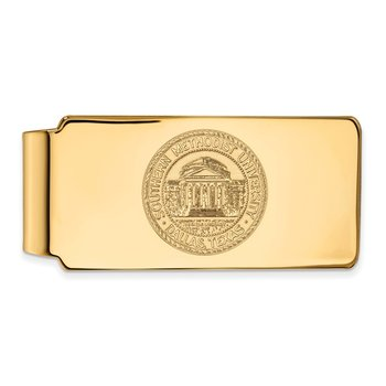 Gold Southern Methodist University NCAA Money Clip