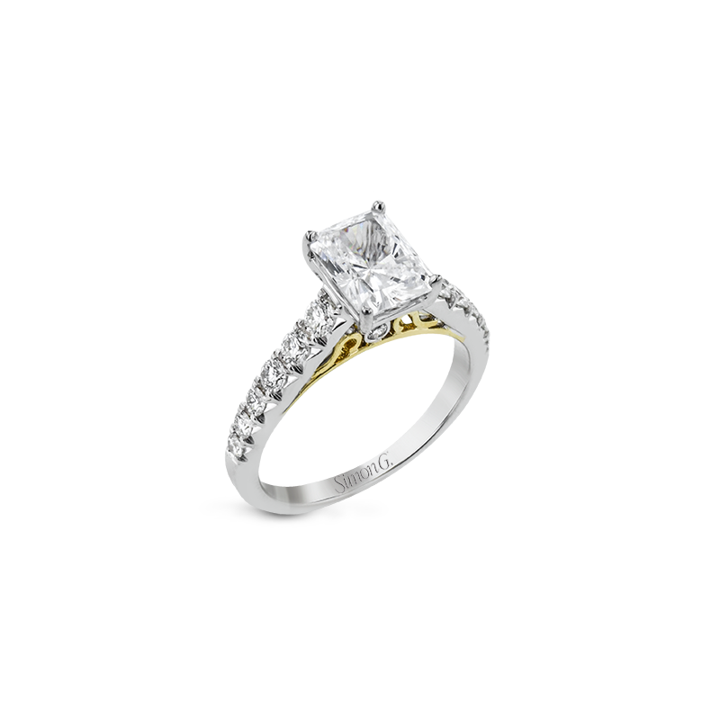 Simon G LP2356-EM ENGAGEMENT RING