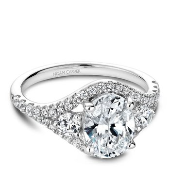 Noam Carver Fancy Engagement Ring B212-01A