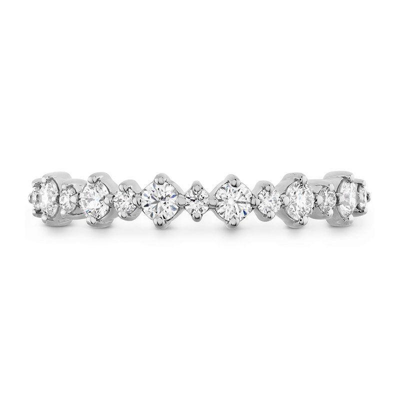 Hearts on Fire 0.37 ctw. Gracious Classic Diamond Band