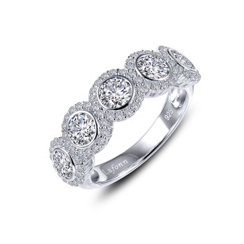 Halo Half Eternity Band