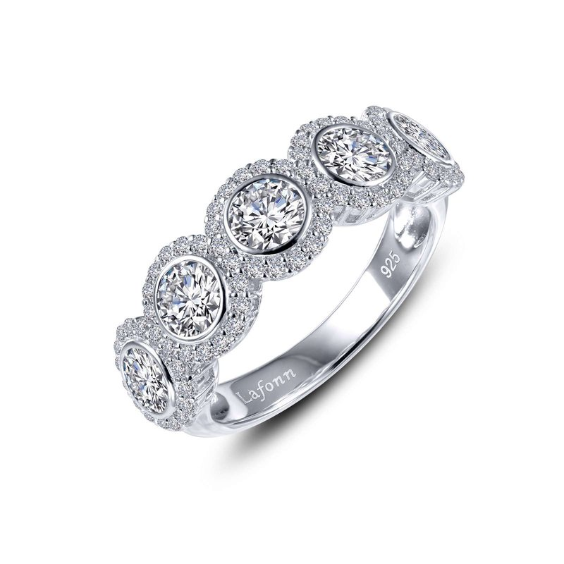 LaFonn Halo Half Eternity Band