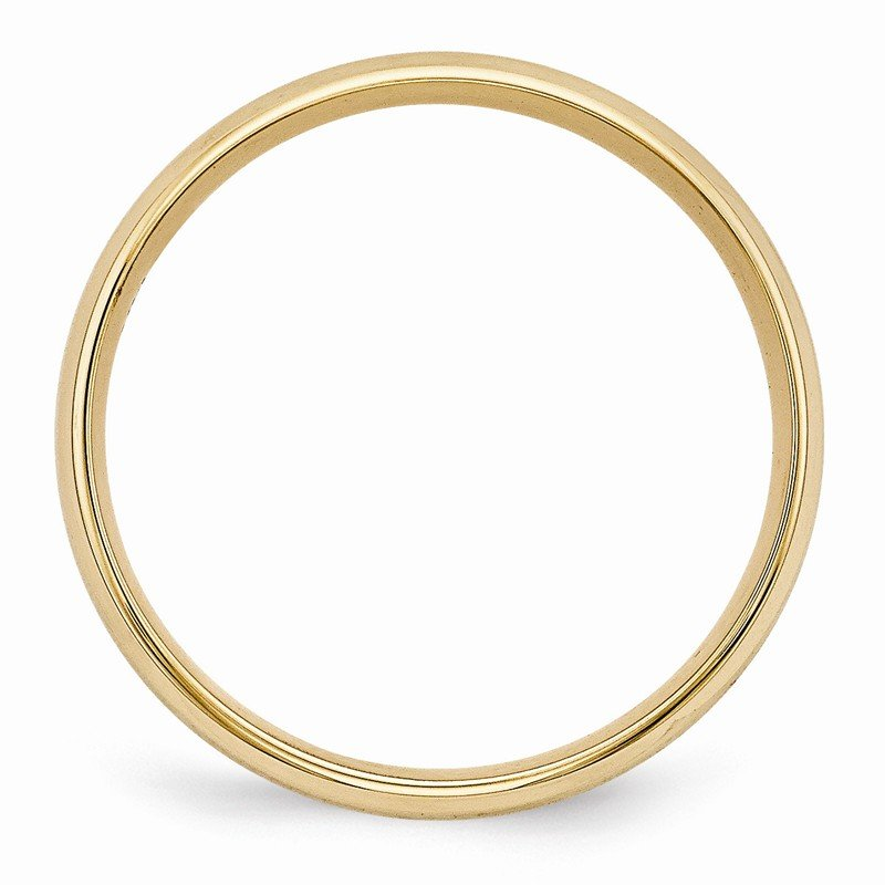 Quality Gold 14k Yellow Gold Heavy Comfort Fit Brush Satin Fancy Band