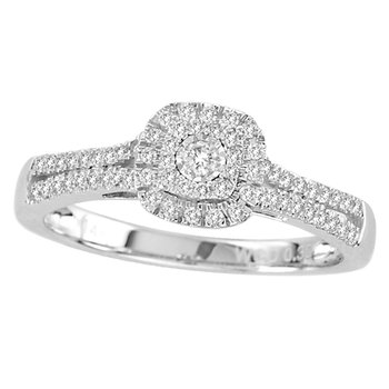 14K 0.30Ct Diamond Ring