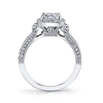 Diamond Engagement Ring 0.62 ct tw