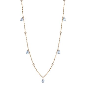 Hanging Moonstone Chain