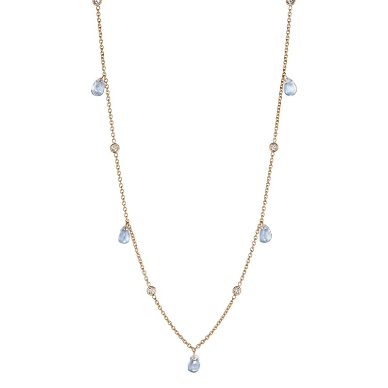Penny Preville Hanging Moonstone Chain