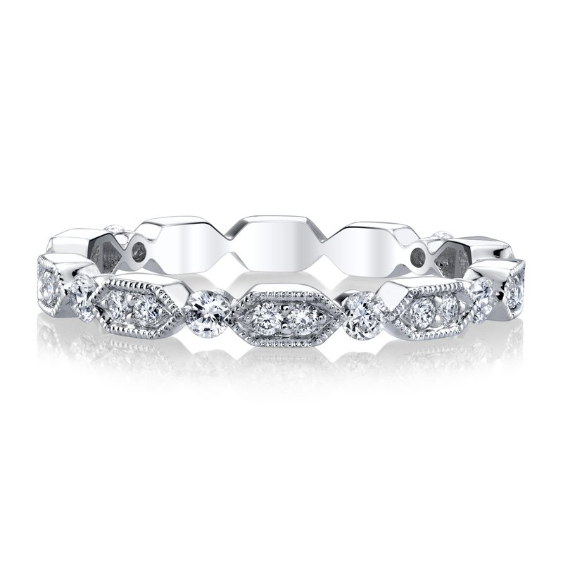 MARS Jewelry MARS 27246 Stackable Ring. 0.42 Ctw.