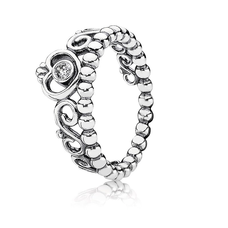PANDORA My Princess Tiara Ring, Clear Cz