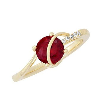 Ruby Ring-CR11752YRU