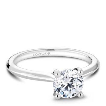 Noam Carver Modern Engagement Ring R047-01A