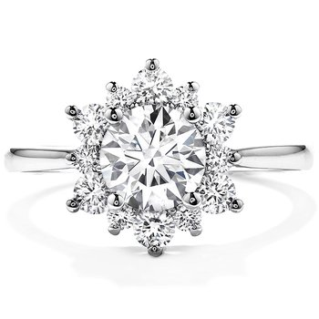 0.55 ctw. Delight Lady Di Diamond Engagement Ring