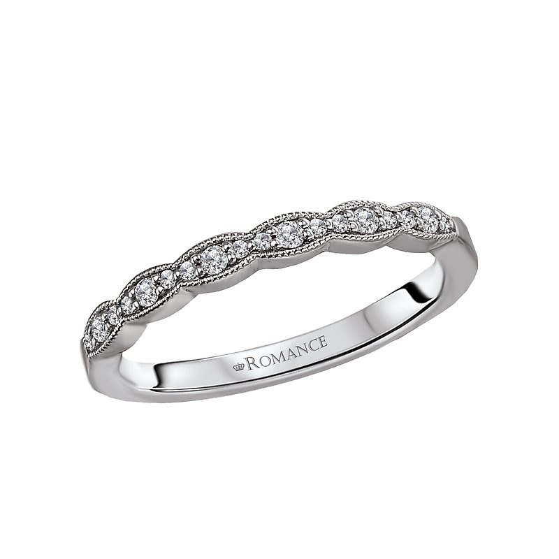 Romance Scalloped Matching Band