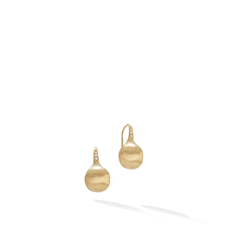 Marco Bicego Africa Constellation Medium Diamond French Wire Earrings