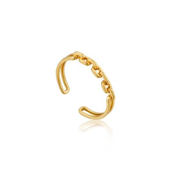 Links Double Adjustable Ring