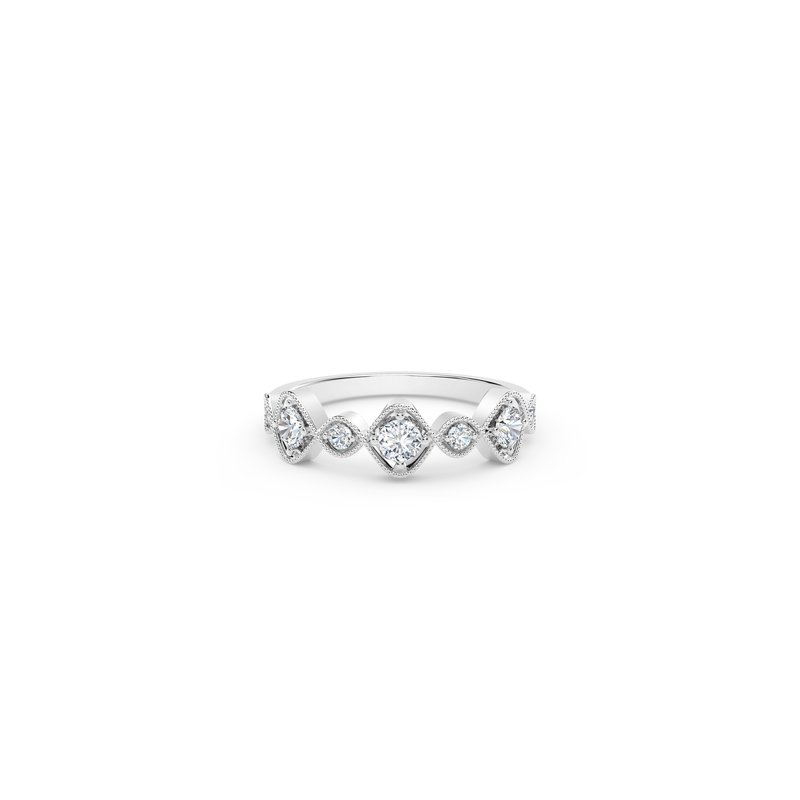 Forevermark Black Label The Forevermark Tribute™ Collection Vintage Stackable Ring