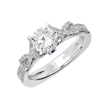 Bridal Ring-RE12642W10R