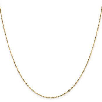 Leslie's 14K 1.35 mm Long Open Cable Link Chain