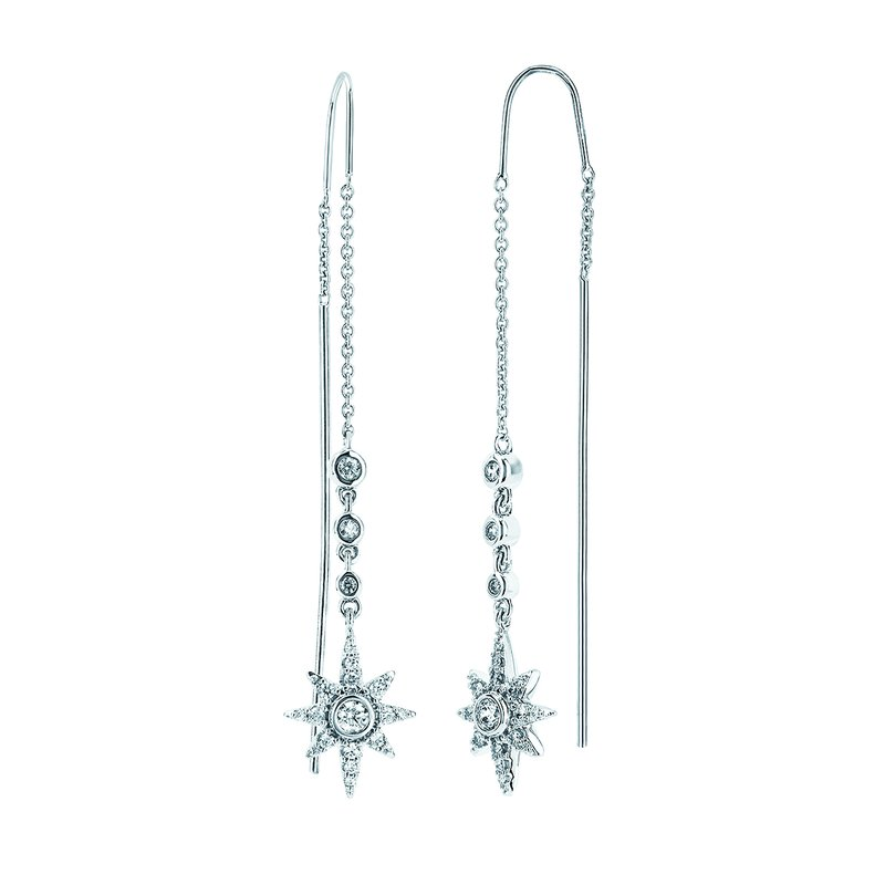 J.F. Kruse Signature Collection Earrings Rd V 0.33