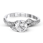 Simon G MR2832 ENGAGEMENT RING