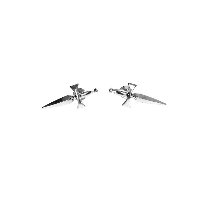King Baby Classic Dagger Stud Earrings