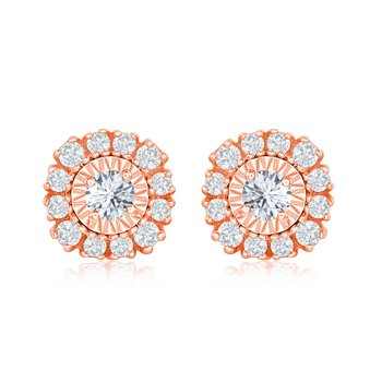 CUSHION MIRACLE FLOWER EARRINGS
