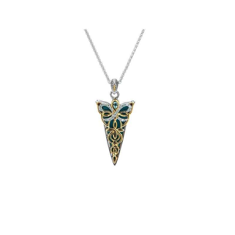 Keith Jack Reversible Butterfly Pendant