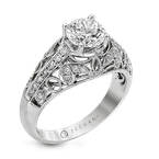 Zeghani ZR160 ENGAGEMENT RING