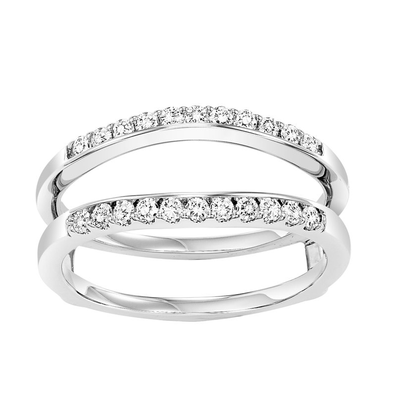 Bridal Bells 14K Diamond Insert Ring 1/3 ctw