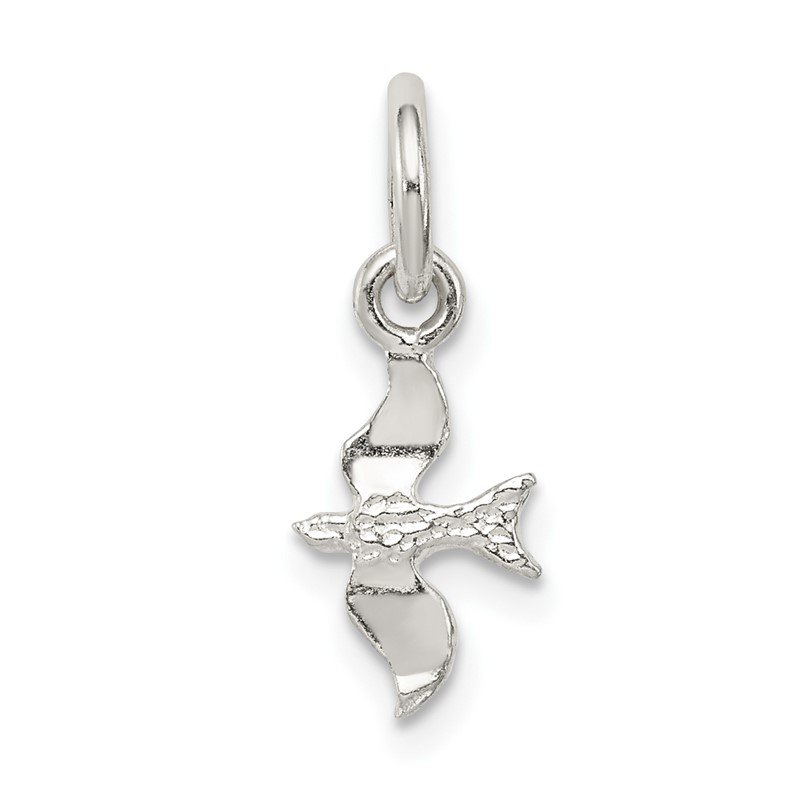 Quality Gold Sterling Silver Bird Charm