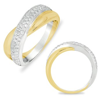 White & Yellow Gold Ring