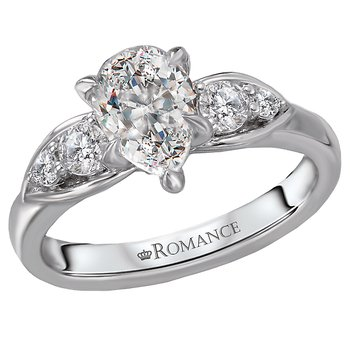 Classic Semi-Mount Diamond Engagement Ring