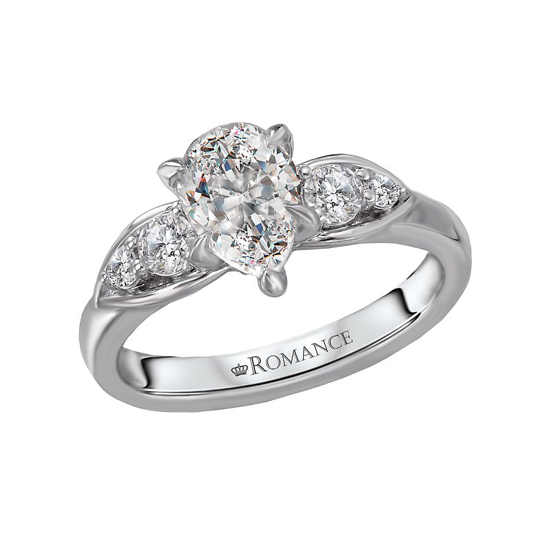 Romance Classic Semi-Mount Diamond Engagement Ring
