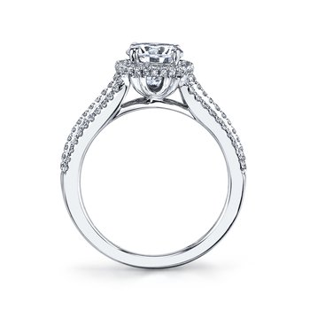 25446 Diamond Engagement Ring 0.50 ct tw