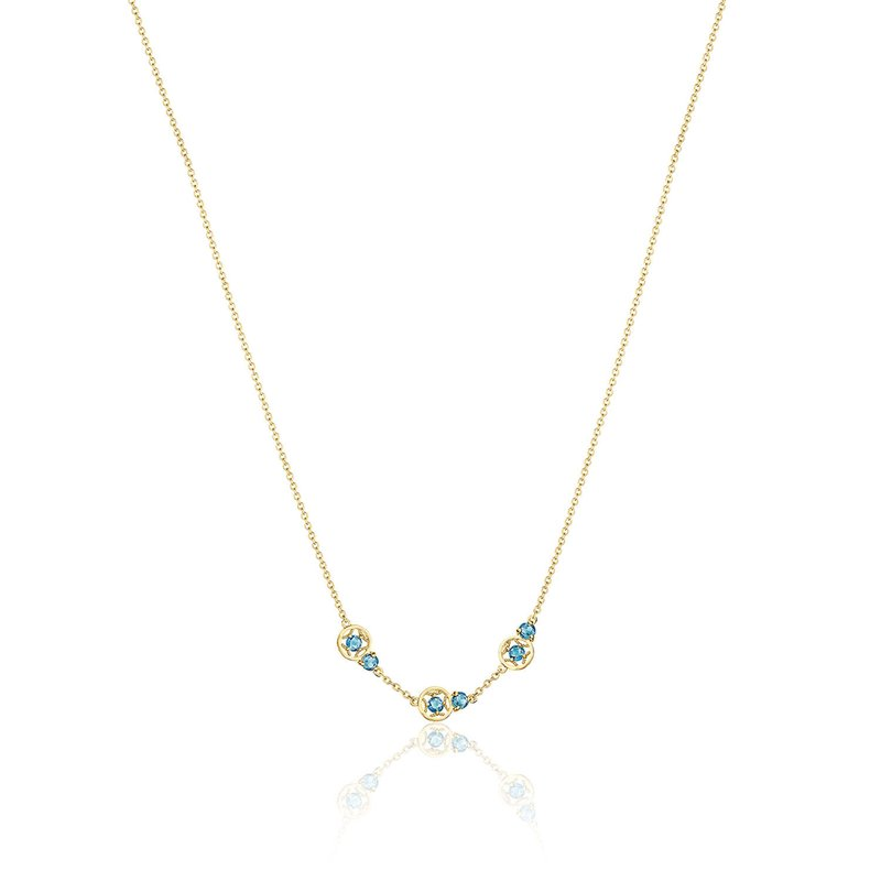 Tacori Fashion Petite Gemstone Necklace with London Blue Topaz