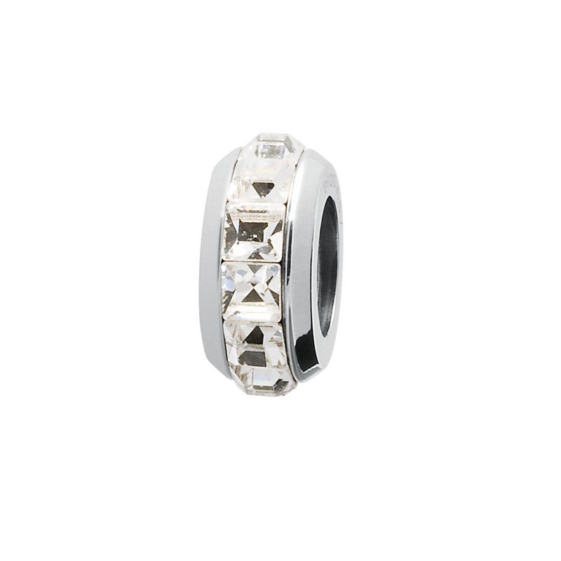 Brosway 316L stainless steel and white Swarovski® Elements crystals