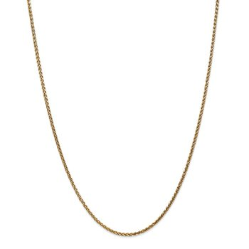 14k 1.8mm D/C Spiga Chain