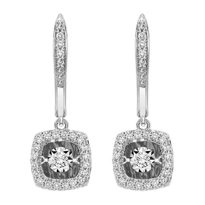 Rhythm of Love 14K Diamond Rhythm Of Love Earrings 1/5 ctw