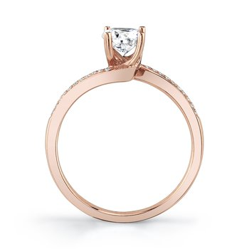 MARS 27129 Engagement Ring, 0.05 Ctw.