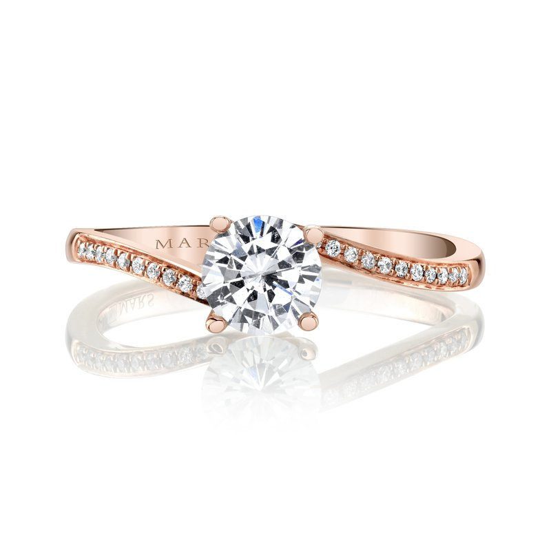 MARS Jewelry MARS 27129 Engagement Ring, 0.05 Ctw.